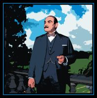Hercule Poirot by Morsoth