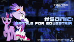 Sonic: Battle for Equestria Toonami Bump by Snicketbar