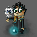 Harry and His Hedwig by dapplet