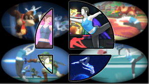 Ready to Smash: Wii Fit Trainer by Kirby-Kid