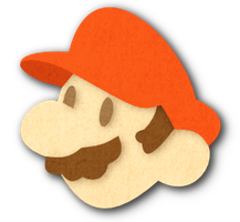 Paper Mario Paper Style by Maii1234