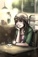 Cafe Daydreams by Dreamerwhit95