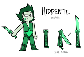 hiddenite by Kludges