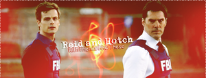 Spencer Reid Aaron Hotchner by ManonGG