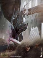 Proud Fallen Angel Alukiel - adv by DavidGaillet