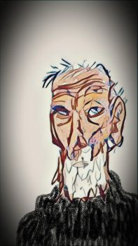 old man and no sea by niC0ras