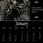 2009 - Drow Calendar - Jan by Umrae-Thara