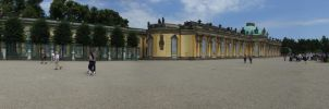 Schloss Sansouci panorama by BlokkStox