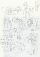 Harry Potter and The Invasion of Chibis by z-stellmaria