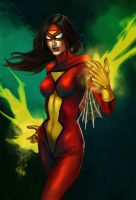 Spider-Woman by schultzee