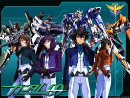 Gundam 00 Season 2 by aliffarhan