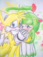 tails and cosmo forever! by SonicXstar