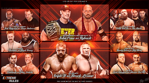 Extreme Rules 2013 Wallpaper by AA6511 by T1beeties