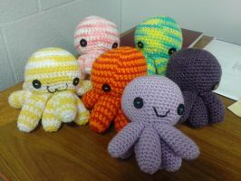 Octopus party by MadeWithLove8