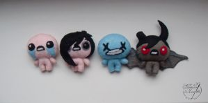 the Binding of Isaac Characters by TRUEvector