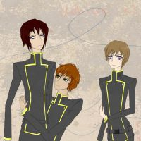 for Lelouch by 3DCensor