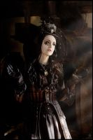 Madame Butterfly ..    victorian Steampunk by S-T-A-R-gazer