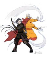 Legend of Korra: Experience (3/3) by mkmatsumoto