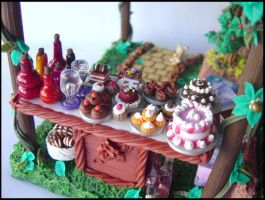 Strange garden- food table by Hecatae