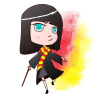 Giddy Gryffindor Girl by DrawlingNell