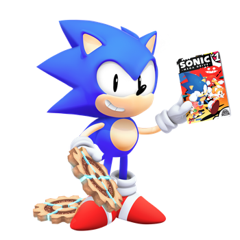 Classic Sonic: Tyson Heese Style in 3D by Nibroc-Rock