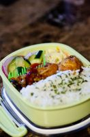 Caramel Chicken Bento by Demi-Plum