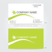 Business Card Template Illustrator by 123freevectors