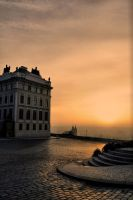 Early morning on Hradcany by tomsumartin