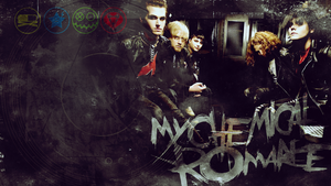 COMM: MCR wallpaper for Fluttershow by MadBlackie