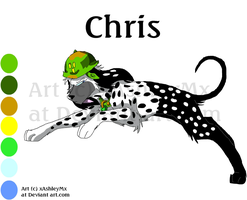 Chris Reference sheet OLD by xAshleyMx