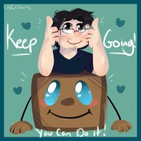Keep Going by CityCatSlack