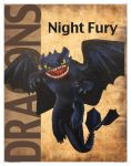 Dragons: Night Fury english by PurpleMerkle