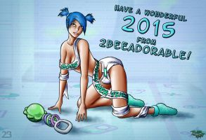 Baby New Year 2015 by 2BeeAdorable