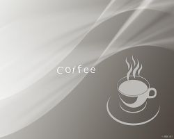 Coffee Cup Wallpaper by sedART