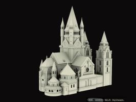 castle by reQuiem3d