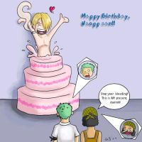 Happy b-day Usopp - from Sanji by firnantowen