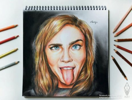 Cara Delevingne by AueySupaluk