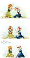 Anna and Elsa by IDK-kun