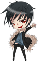 Commission - Izaya by 221bee