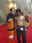 Gray Fullbuster And Naruto Uzumaki Cosplay by LindoKorchi