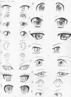 Practicing Eyes by ImGerik