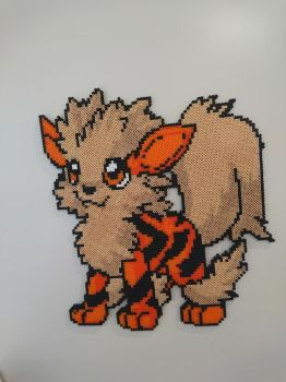 Chibi Arcanine by MagicPearls