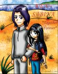 KEN and SABINA TOGETHER 4EVER by DrChillRoach