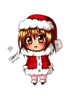 Chibi Miki Cristmas clothing by JasiChan17