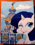 Home Sweet Home - Rarity by FrogAndCog