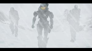 Halo - Scouting in the Storm by cfowler7