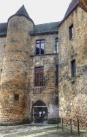 Medieval town - Sarlat 10 by HermitCrabStock