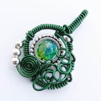 Free Form Steampunk Pendant by Create-A-Pendant