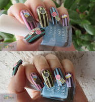 Kawaii Candy Shop! Japanese nail art by Danijella