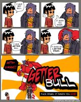 Getter Bull by shonenpunk